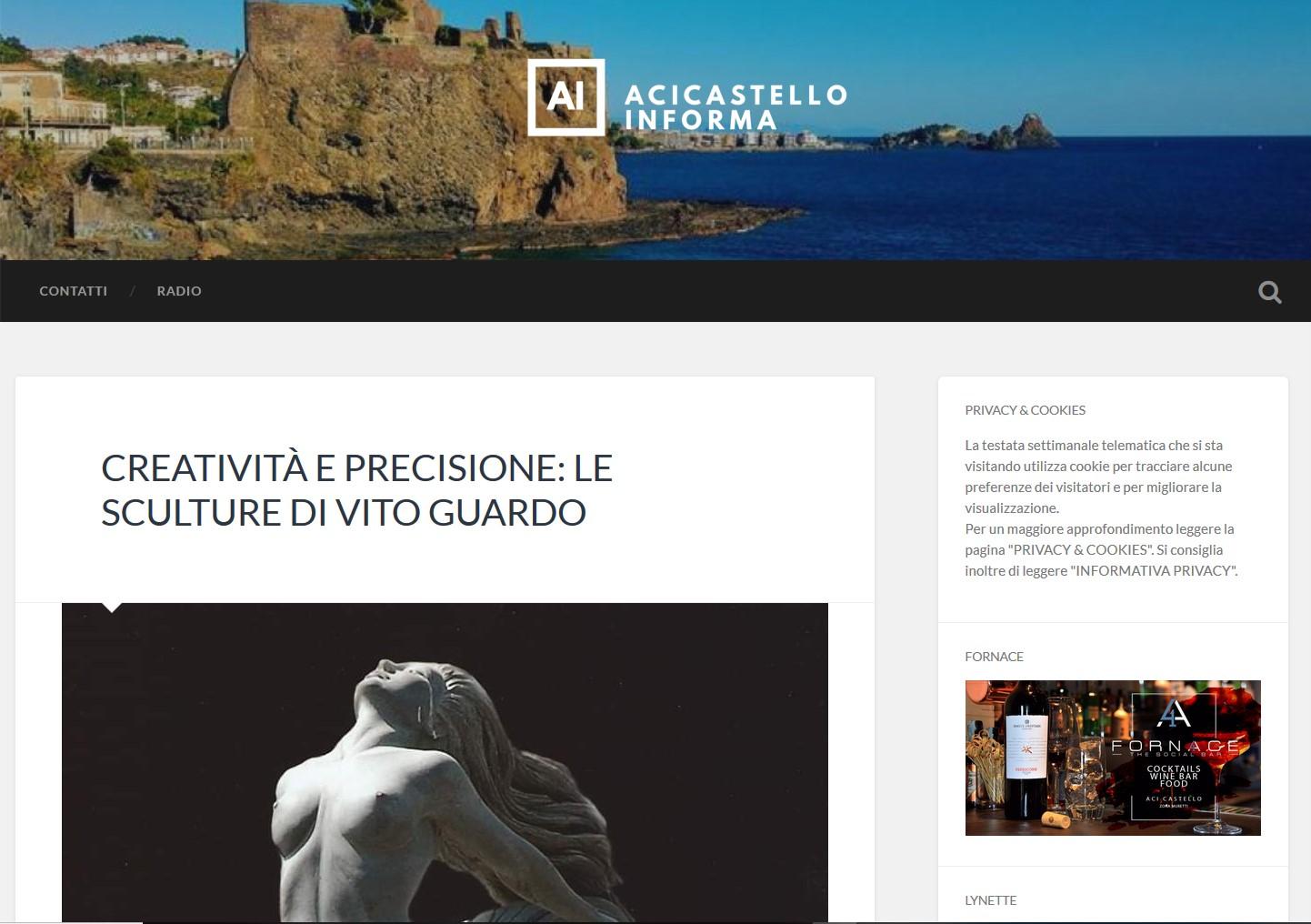 articolo acicastelloonline.it, blog notizie, clog sicilia